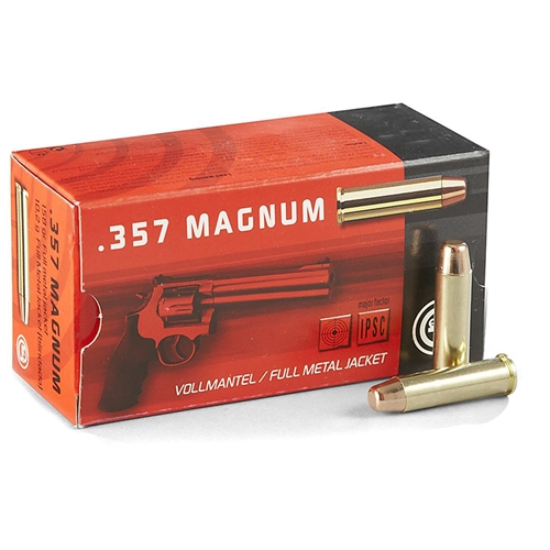 Geco 357 Magnum Ammo 158 Grain Full Metal Jacket