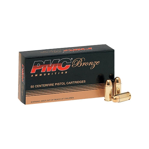 PMC Bronze 32 ACP AUTO Ammo 71 Grain Full Metal Jacket