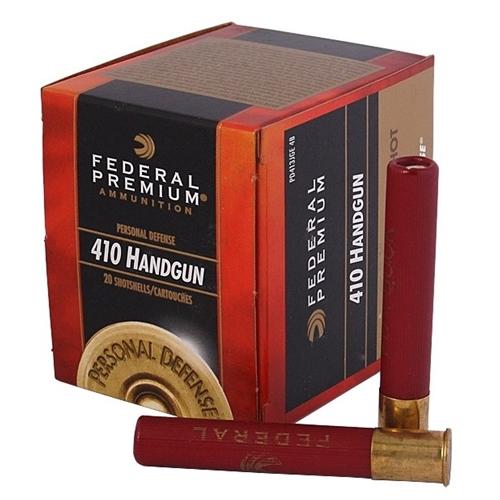 """Federal Personal Defense 410 Gauge Ammo 3"""" #4 Buckshot 9 Pellets"""
