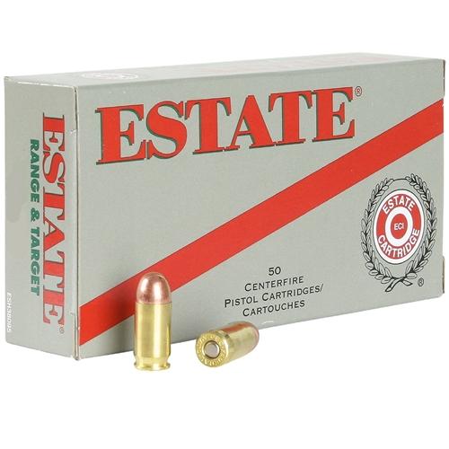Federal Estate Range 40 S&W Ammo 165 Grain FMJ