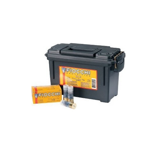 "Fiocchi 12 Gauge 2 3/4"" 1oz. Aero Rifled Slugs 80 Rds in Ammo Can"