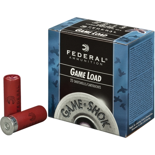 "Federal Game-Shok Field Load Ammo 16 Gauge 2-3/4"" 1 oz #6 Shot Ammunition"