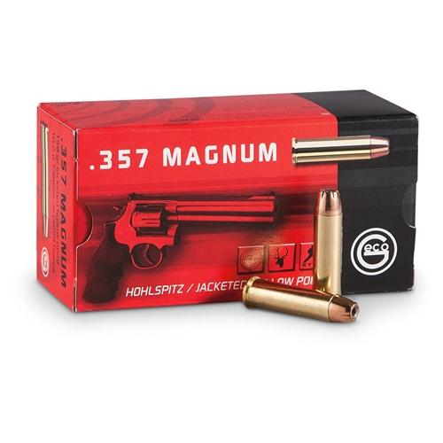 Geco 357 Magnum Ammo 158 Grain JHP