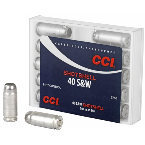 CCI Shotshell 40 S&W Ammo 88 Grain #9 Shot