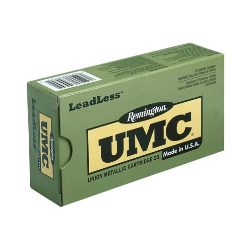 Remington UMC Leadless 380 ACP Auto Ammo 95 Grain FNEB
