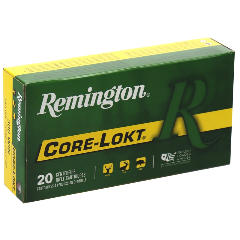 Remington Express 308 Winchester 180 Grain Core-Lokt Pointed SP
