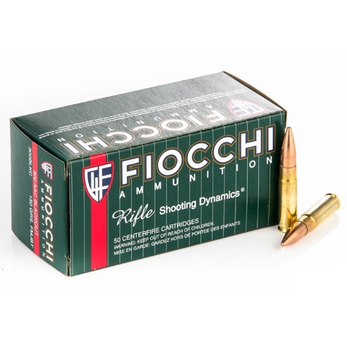 Fiocchi Shooting Dynamics 300 AAC Blackout Ammo 150 Grain FMJ BT