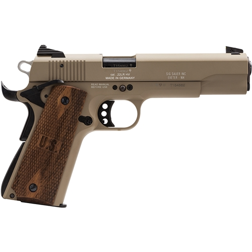 Sig Sauer 1911 Semi-Automatic 22LR Pistol Flat Dark Earth