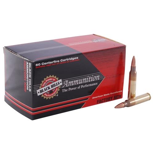 Black Hills 5.56mm 62 Grain Ammo Barnes TSX