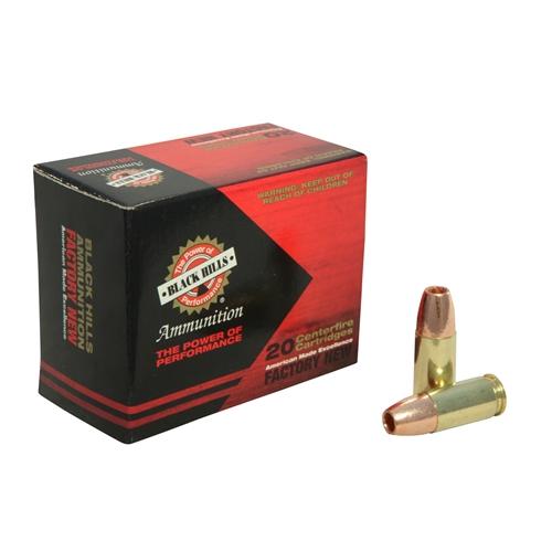 Black Hills 9mm Luger Ammo 115 Grain +P Barnes TAC-XP HPLF