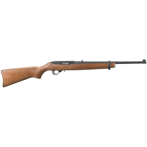 "Ruger 10/22 Standard Semi-Auto Rimfire Rifle .22 LR 18.5"" Barrel 10+1 Rounds Hardwood"