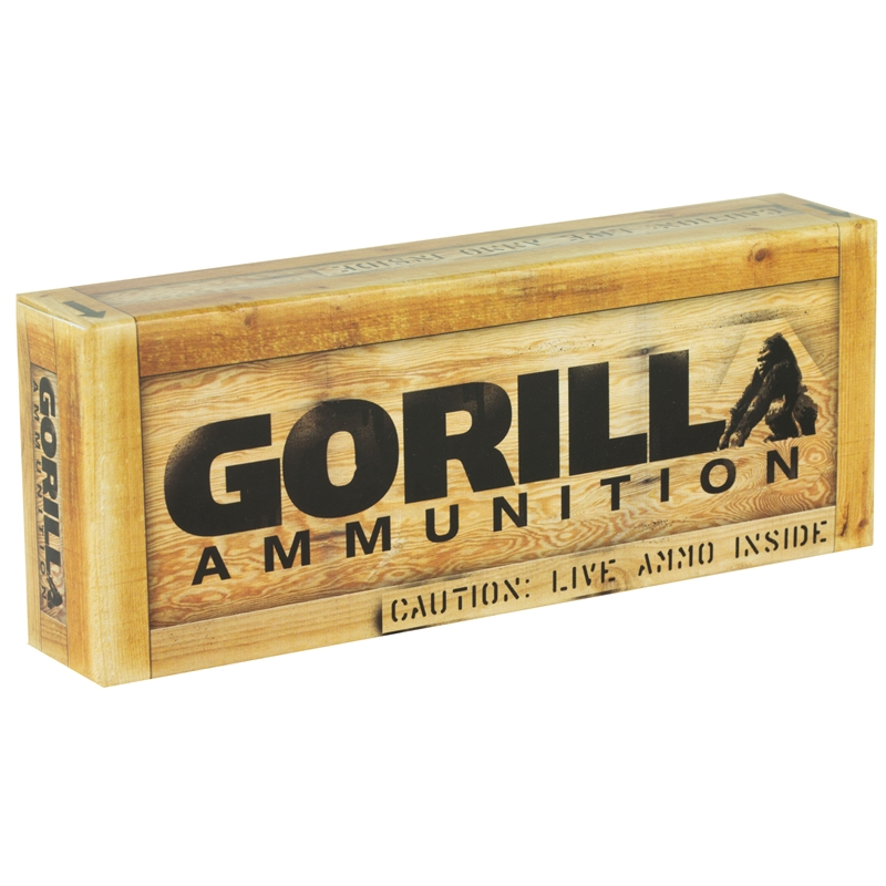 Gorilla Ammunition 300 AAC Blackout Ammo 220 Grain Sierra MatchKing Hollow Point Subsonic