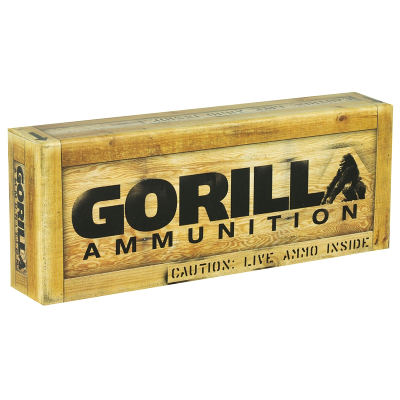 Gorilla Ammunition 300 AAC Blackout Ammo 125 Grain Sierra MatchKing Hollow Point
