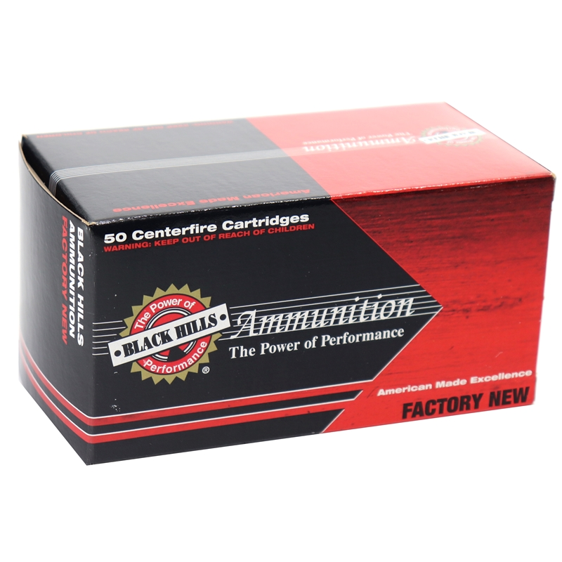 Black Hills 5.56mm 50 Grain Ammo Triple-Shock X Bullet HPLF
