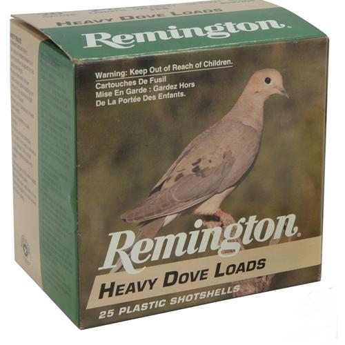 "Remington Heavy Dove & Quail 20 Gauge Ammo 2 3/4"" 1oz #6 Shot VP"
