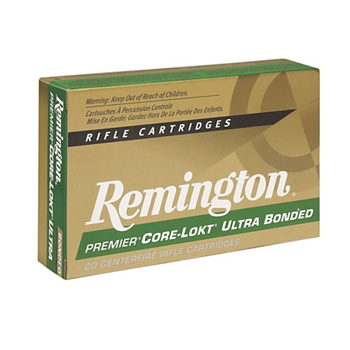 Remington Premier 308 Winchester Ammo 150 Grain CL Ultra Bonded