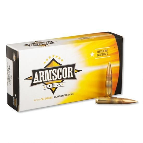 Armscor USA 300 AAC Blackout Ammo 147 Grain Full Metal Jacket