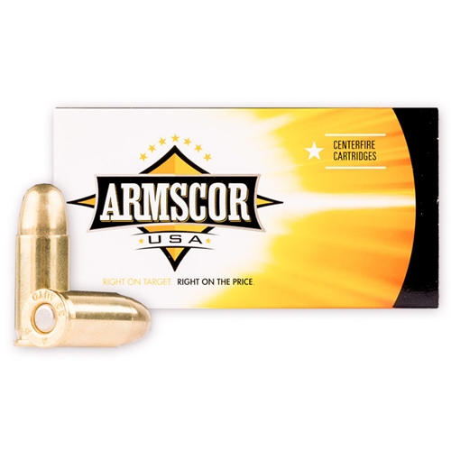 Armscor USA 32 ACP Auto Ammo 72 Grain Full Metal Jacket
