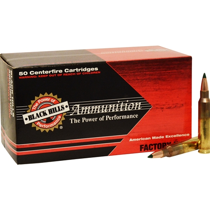 Black Hills 5.56mm NATO Ammo 77 Grain Tipped MatchKing