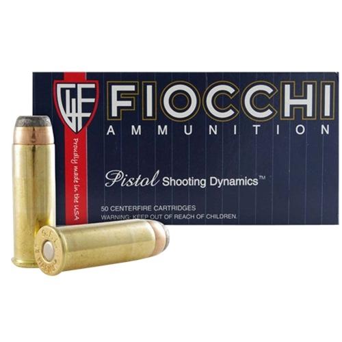 Fiocchi Shooting Dynamics 44 Remington Magnum Ammo 200 Grain SJHP