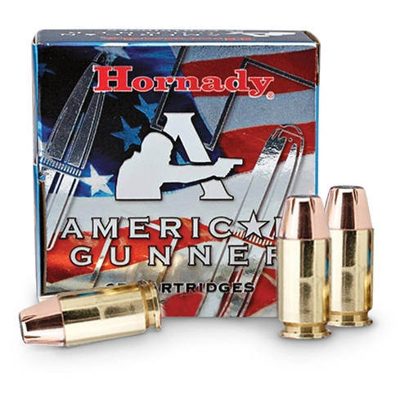 Hornady American Gunner 380 ACP Auto Ammo 90 Gr XTP JHP