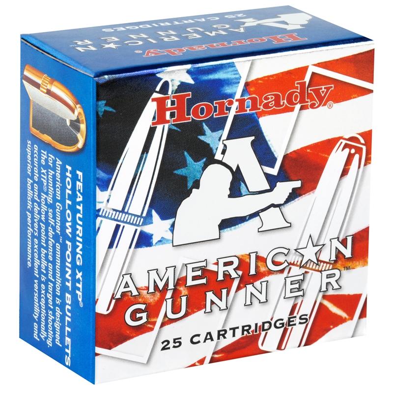 Hornady American Gunner 9mm Luger Ammo 115 Gr XTP JHP