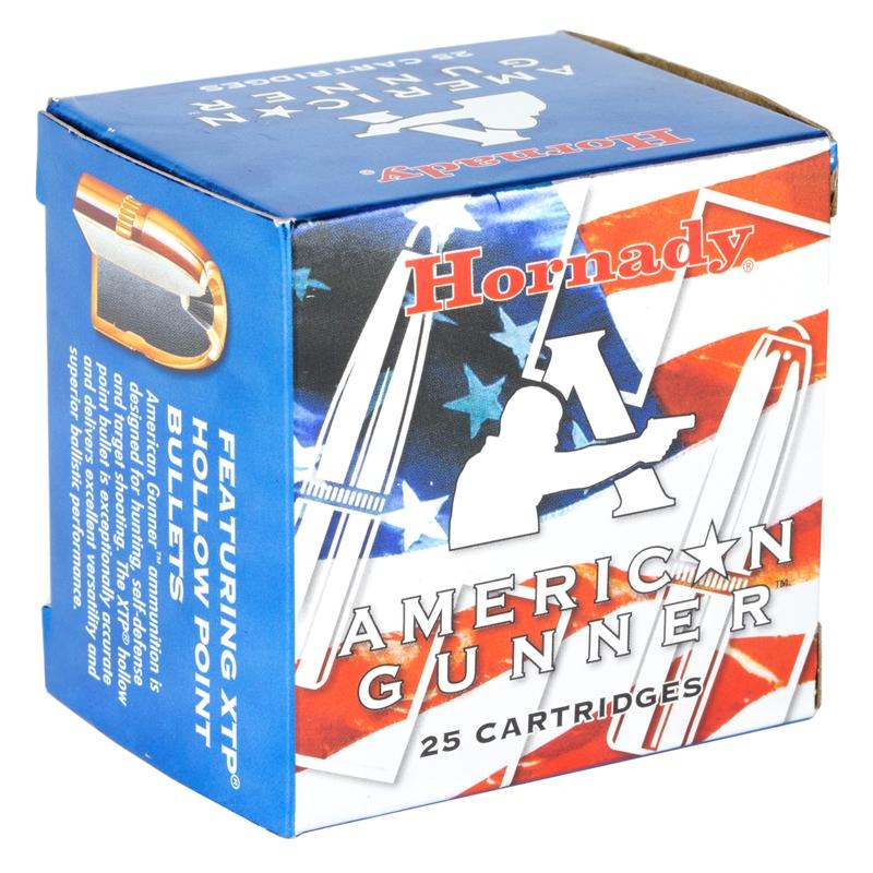 Hornady American Gunner 357 Magnum Ammo 125 Grain XTP Jacketed Hollow Point