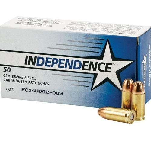 Independence 9mm 115 Grain Jacketed Hollow Point