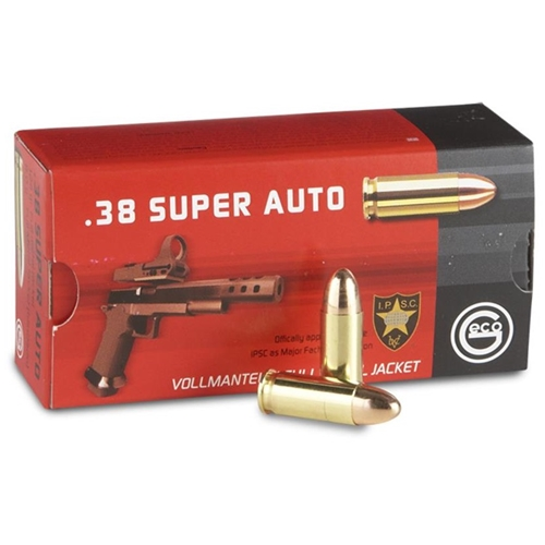 RWS Geco 38 Super Ammo 124 Grain Full Metal Jacket