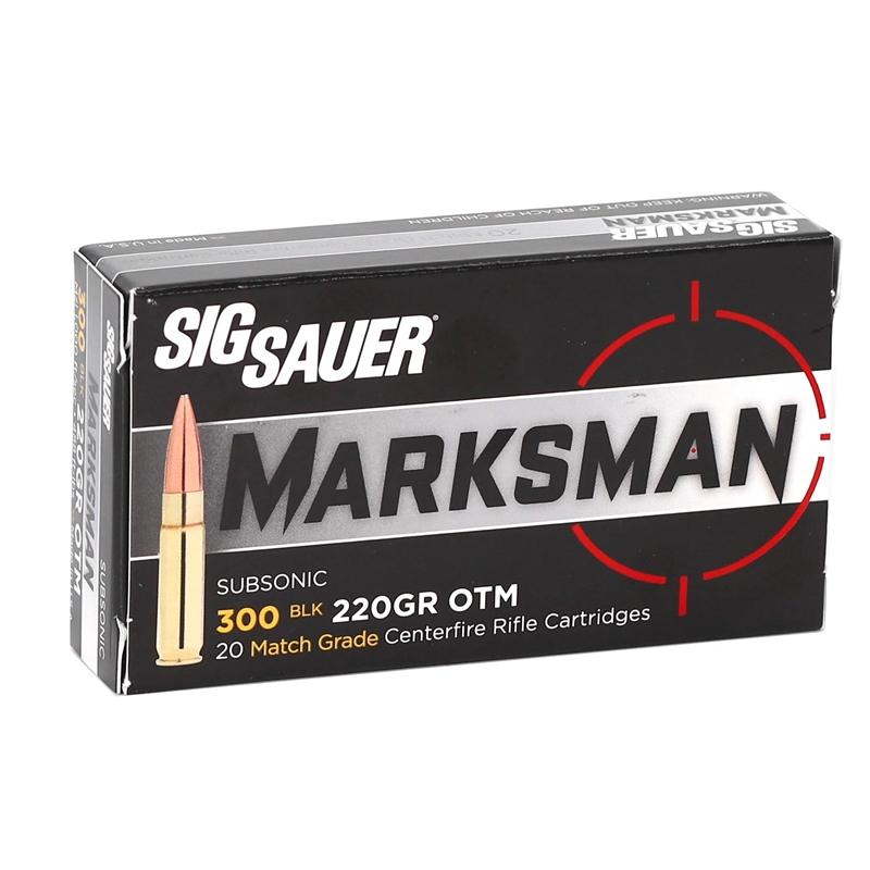 Sig Sauer Elite Performance 300 AAC Blackout Ammo 220 Grain OTM