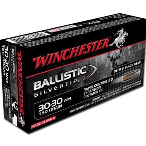 Winchester Supreme 30-30 Winchester 150 Grain Ballistic Silvertip