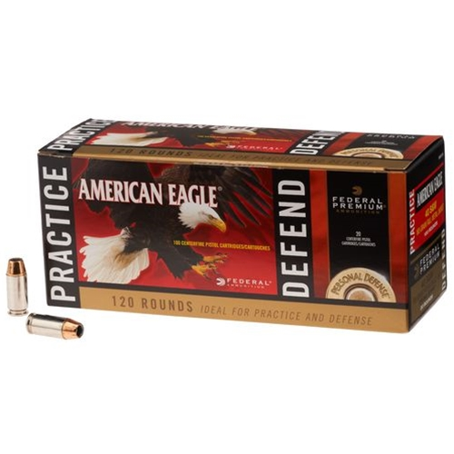 Federal American Eagle 40 S&W Ammo FMJ/ Hydra-Shok JHP Combo Pack