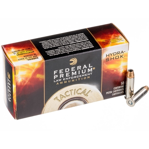 Federal Law Enforcement 357 Magnum Ammo 158 Grain Hydra-Shok JHP
