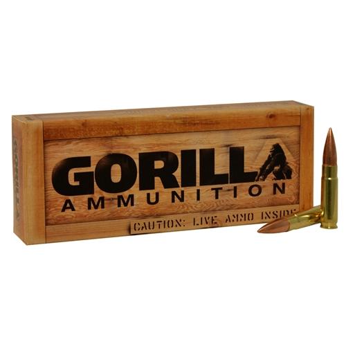 Gorilla Ammunition 300 AAC Blackout Ammo 147 Grain Full Metal Jacket