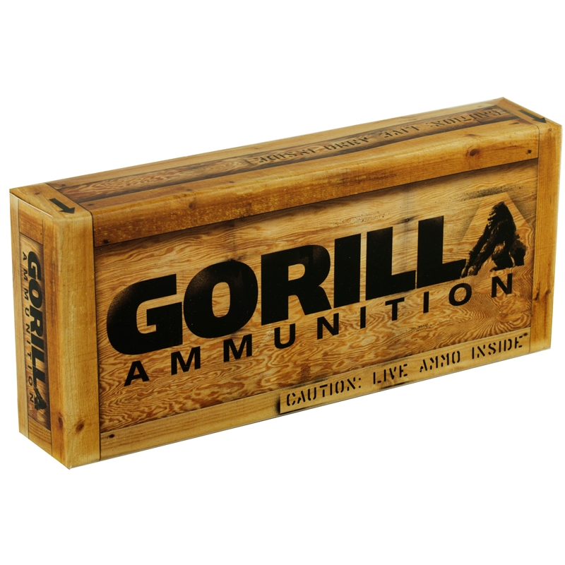 Gorilla Ammunition 308 Winchester Ammo 175 Grain Sierra Match King HP