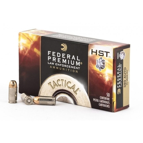 Federal Law Enforcement 380 ACP AUTO Ammo 99 Grain JHP