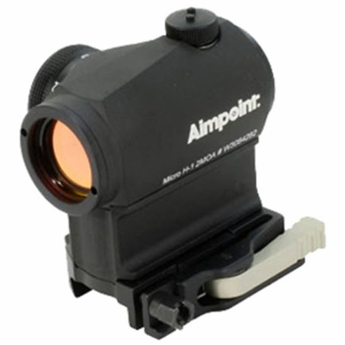 Aimpoint Micro H-1 Red Dot Sight 2 MOA with LRP Mount and 39mm Spacer