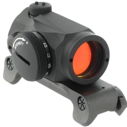 Aimpoint Micro H-1 Red Dot Sight 2 MOA Dot with Blaser Saddle Mount