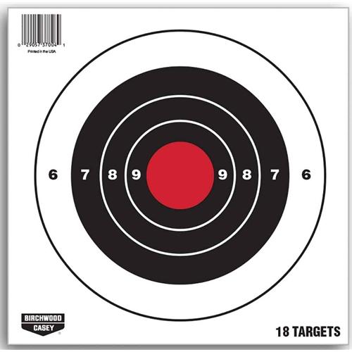 "Birchwood Casey 8"" Paper Pistol Target"