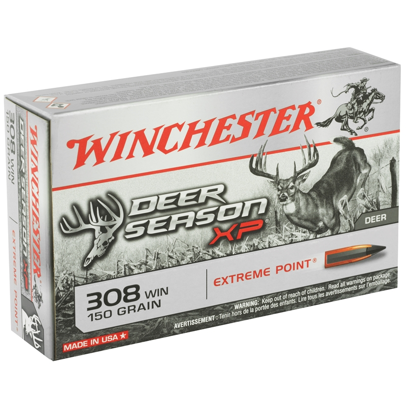 Winchester Deer Season XP 308 Win 150 Grain Extreme Point Polymer Tip