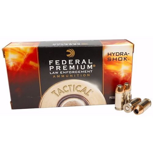 Federal Law Enforcement 45 ACP Auto 185 Gr +P Hydra-Shok JHP