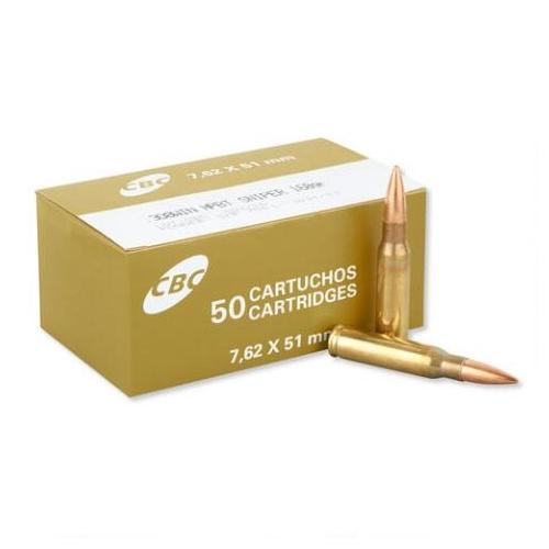MagTech CBC 308 Winchester Sniper Ammo 168 Grain HPBT