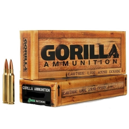 Gorilla Ammunition 260 Remington 123 Grain SMK