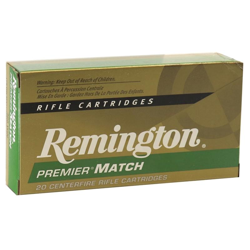 Remington Premier Match 308 Winchester Ammo 175 Grain SMK BTHP