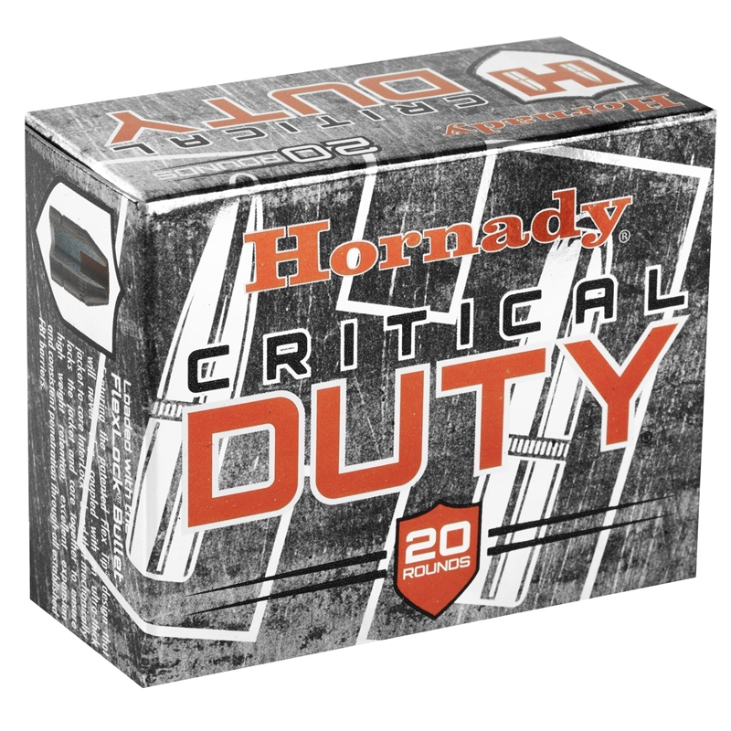 Hornady Critical Duty 10mm Auto Ammo 175 Grain FlexLock