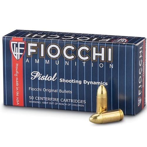 Fiocchi Shooting Dynamics 9mm Luger Ammo 115 Grain CMJ