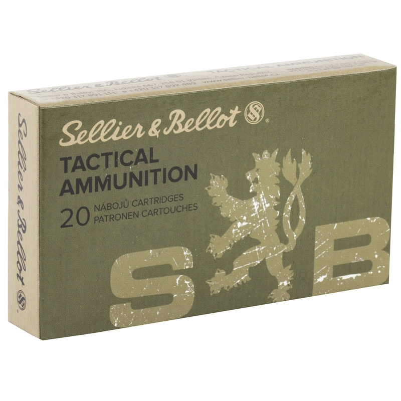 Sellier & Bellot 300 AAC Blackout Ammo 200 Gr Subsonic FMJ