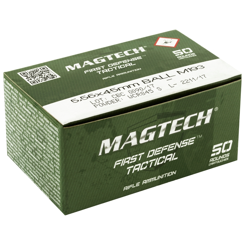 Magtech CBC 5.56mm NATO M193 Ammo 55 Grain Full Metal Jacket