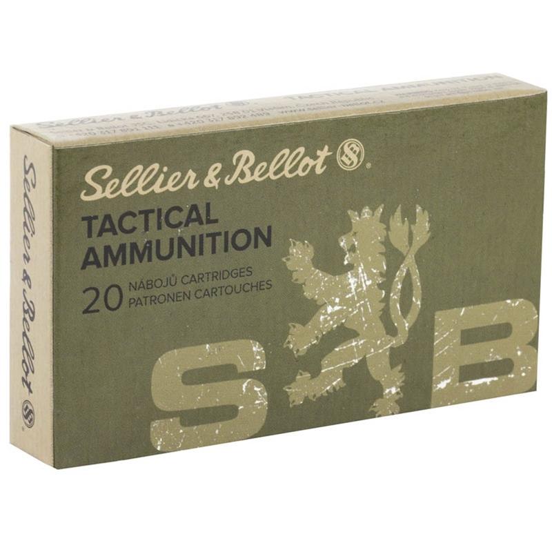 Sellier & Bellot 300 AAC Blackout Ammo 124 Grain FMJ
