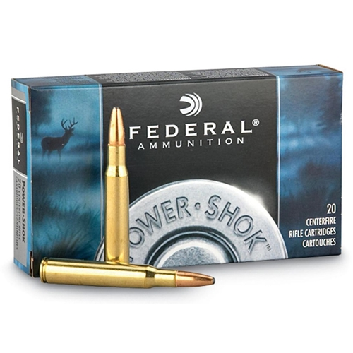 Federal Power-Shok 308 Winchester 150 Grain Copper Plated SP